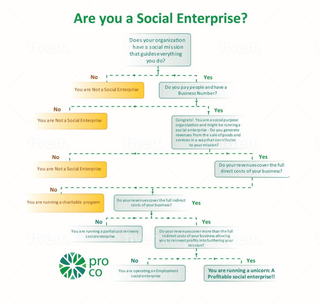 Flow Chart Are You A Social Enterprise?